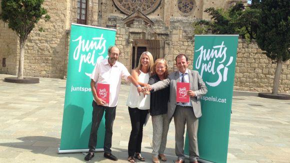 Junts pel Sí crea un comitè de campanya a Sant Cugat i programa tres actes