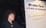 Montse Turu a l'acte de presentació de la seva llista electoral