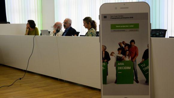 La votació dels pressupostos participatius comença el 17 d'octubre i també es podrà fer amb una app