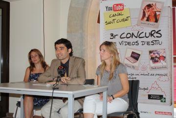 Tret de sortida al tercer concurs de vídeos d'estiu del canal Youtube Sant Cugat