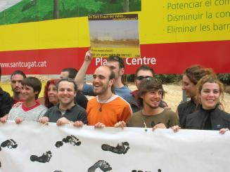 Acte final de campanya de la CUP per la independència de Catalunya