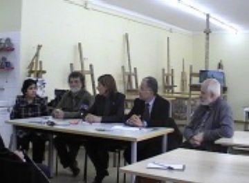 El pintor Lluís Ribas ofereix un taller de pintura en benefici de Càritas