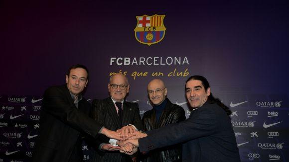 El Teatre-Auditori participa a la presentació de l'espectacle 'Foot-ball' al Camp Nou