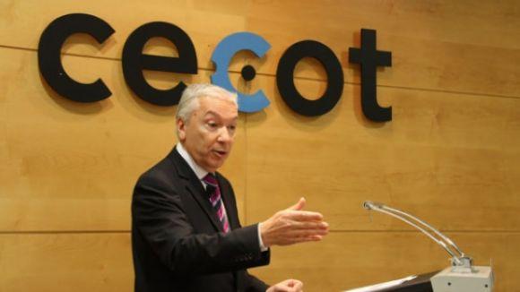 El president de Cecot anuncia la candidatura per presidir Foment del Treball