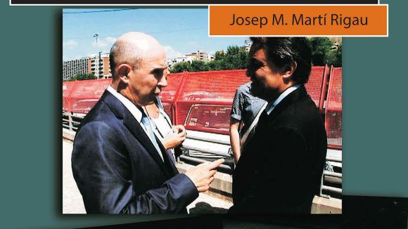 El santcugatenc Josep Maria Martí Rigau publica 'Presidents de prop'