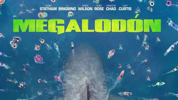 Els taurons tornen a l'estiu a la cartellera amb 'Megalodón'
