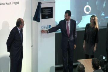 Els Prínceps d'Astúries destaquen el caràcter innovador d'Esade a la inauguració del campus