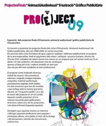 L'Escola d'Art presenta els projectes finals dels alumnes en una exposició durant la Nit de l'Art