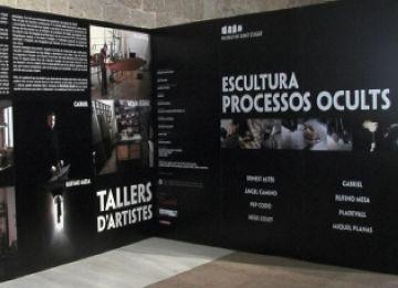 'Escultura: processos ocults' mostra el procés de creació de les obres escultòriques