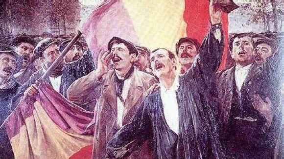 ERC i el PSC commemoren el 85è aniversari de la proclamació de la Segona República