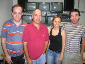 Imatge d'alguns dels integrants de la productora