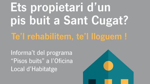 Arrenca la campanya perquè els propietaris d'habitatges buits els cedeixin al lloguer social