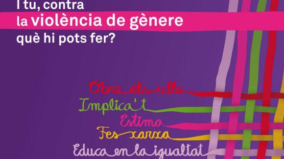Sant Cugat commemora el Dia contra la Violència de Gènere amb una quinzena d'activitats