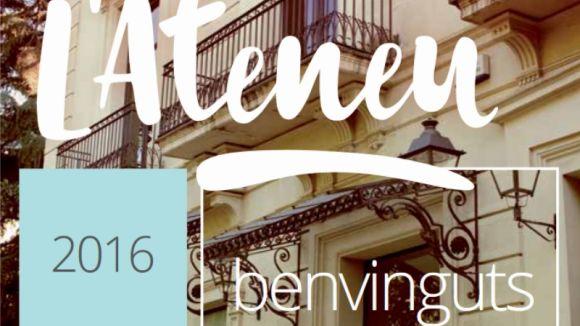 Comencen les inscripcions dels 175 cursos i tallers de l'Ateneu