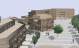 Vista virtual de com quedarà la plaça Lluís Millet ja vianantitzada.