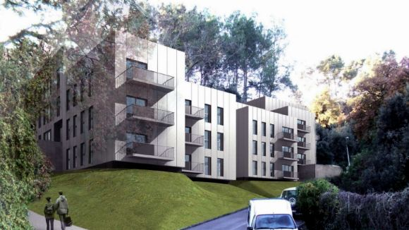 Recreació dels pisos que es construiran / Font: Promusa.cat