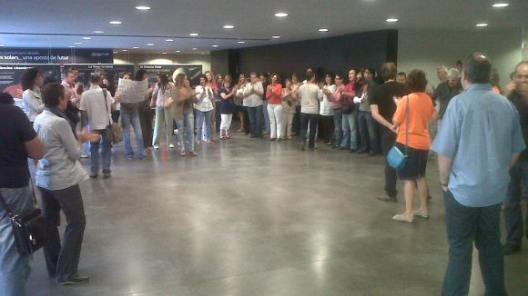 Els treballadors municipals, contra les retallades del decret de Rajoy