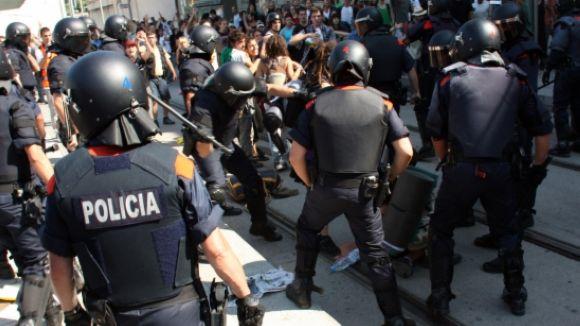 La CUP se solidaritza amb els condemnats per protestar al Parlament