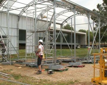 L'ETSAV mostra el seu prototip de casa solar energèticament autosuficient