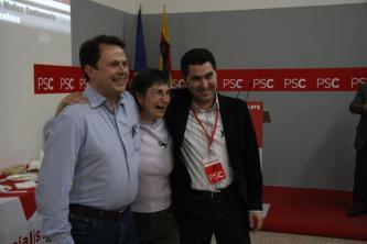 El PSC s'endú la victòria a Sant Cugat i amb dos punts més que fa quatre anys