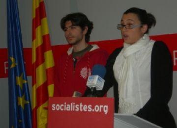 La JSC viatja al País Basc per donar un cop de mà a les joventuts socialistes basques amb la campanya electoral