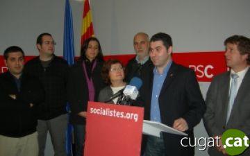 PSC: 'Som l'únic partit que fa oposició i l'única alternativa al govern de CiU'