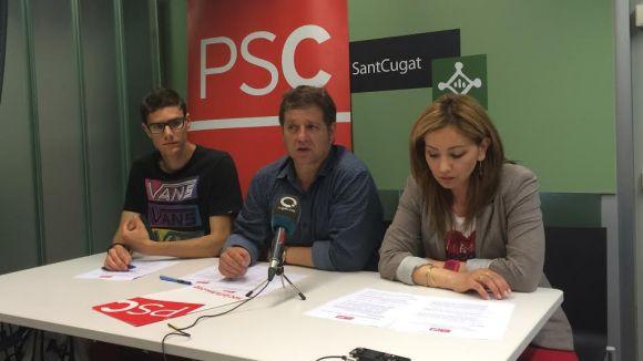 El PSC vol un nou ús per a l'edifici de l'antic ajuntament i convertir el Catalunya també en institut