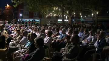 Els veïns han omplert la plaça del Coll tots els dies de Festa Major