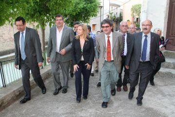 Valldoreix, present a la constitució de l'EMD de Baldomar