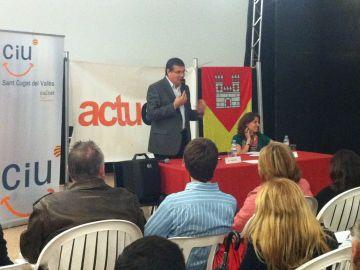 Josep Puig repeteix com a candidat de CiU-Actuem a l'EMD