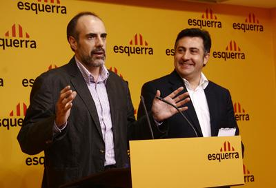 ERC de Sant Cugat tanca files amb la victòria de Puigcercós tot i la victòria d'Ernest Benach a la seva demarcació