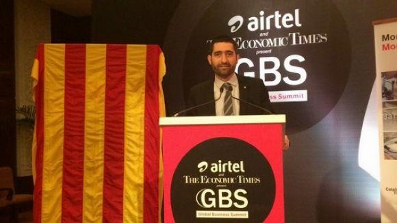 L'ambaixada espanyola retira la senyera de la presentació d'smartCAT a l'Índia