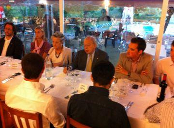 Jordi Pujol lloa el model de ciutat de Sant Cugat