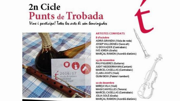 El Punt de Trobada de cultura tradicional catalana, aquest vespre al Casal TorreBlanca