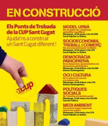 La CUP defineix el diàleg amb la ciutadania com a eix del seu programa electoral