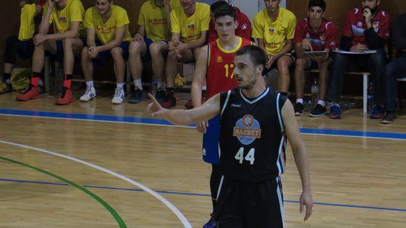 El Qbasket Sant Cugat es juga la permanència aquest diumenge a la pista del CB Garrotxa Santjoanenc