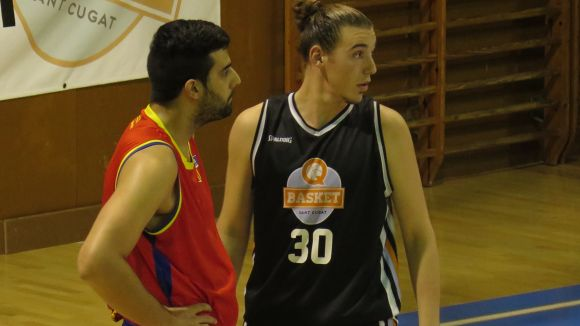 El Qbasket Sant Cugat perd el primer partit de la promoció de descens a la pista del CB Garrotxa