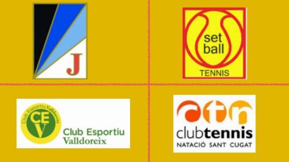 Cartell del torneig / Font: Club Tennis Natació Sant Cugat