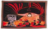 El tapís de Picasso exposat a la Casa Aymat
