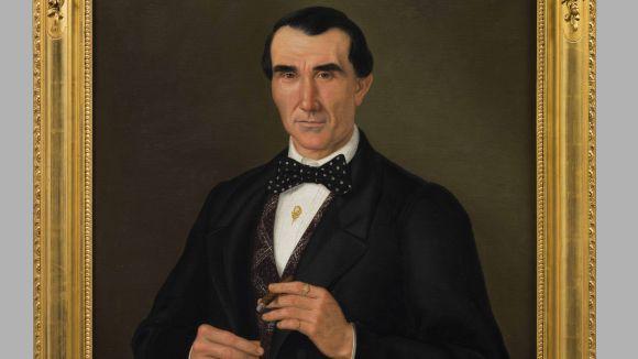 El Museu rep la donació d'un quadre de Lluís Vermell restaurat pel CRBM