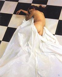 La mostra recull obres de diferents artistes, entre ells del propi Lluís Ribas
