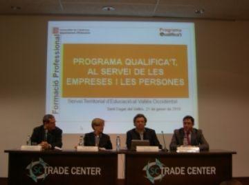 El programa 'Qualifica't', presentat a la ciutat, facilita l'obtenció de títols de formació professional als treballadors