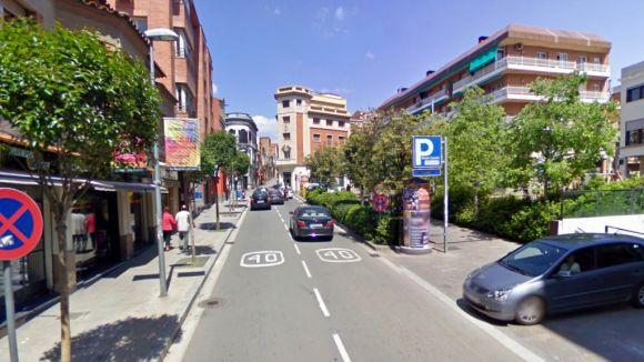 Afectacions al trànsit a partir de dimarts a Francesc Moragas per obres de millora del clavegueram