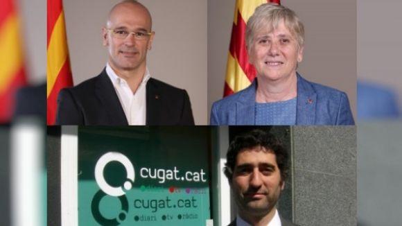 Romeva, Ponsatí i Puigneró, els santcugatencs que figuren a les querelles de Fiscalia per l'1-O
