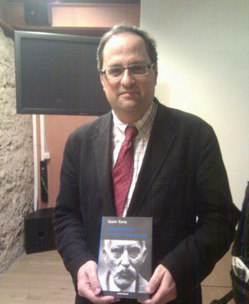 Quim Torra ha presentat el llibre al Museu de Sant Cugat