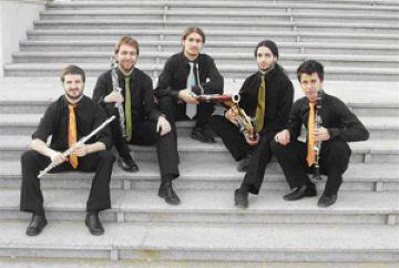 D'esquerra a dreta, Pere Sansó, Vicent Salvador, Josep Casadellà, Marc Moragues i  Alejandro Villanueva