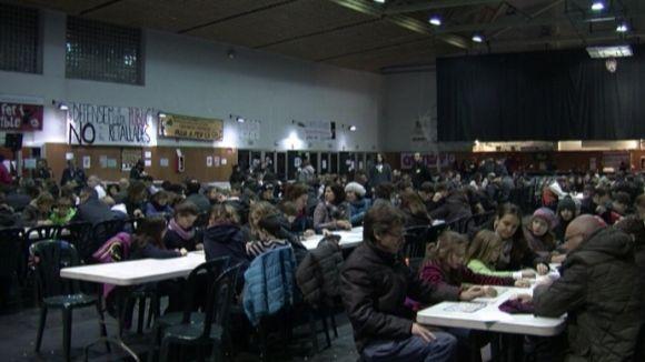 El Quinto de Nadal bat rècords i reparteix més de 5.000 euros en premis