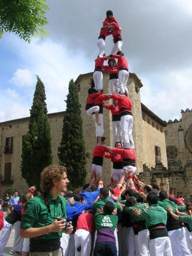 Els Castellers de Sant Cugat preparen la seva possible participació a Tarragona