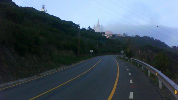 Es reforça la senyalització per presència de senglars a les carreteres de Collserola