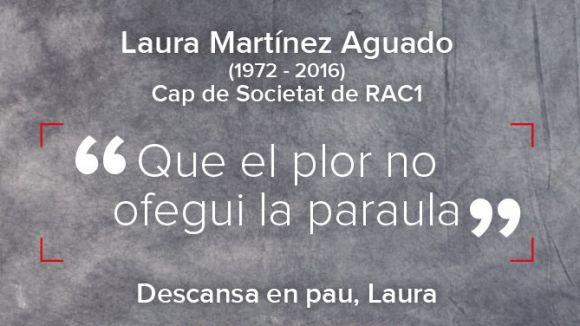 Mor la periodista de RAC1 Laura Martínez